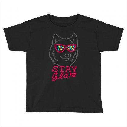 Stay Glam Toddler T-shirt Designed By Shadowart