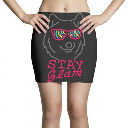 Stay Glam Mini Skirts Designed By Shadowart