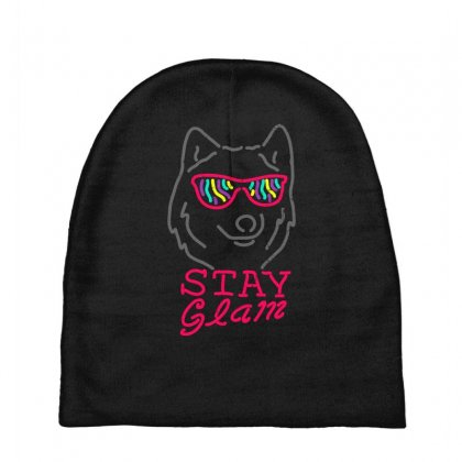 Stay Glam Baby Beanies Designed By Shadowart
