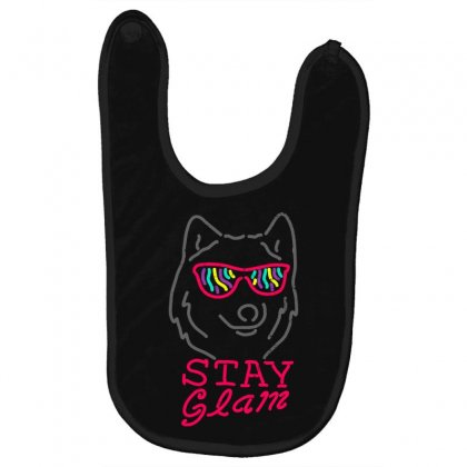 Stay Glam Baby Bibs Designed By Shadowart