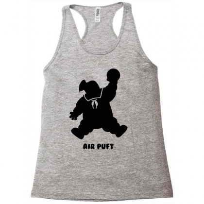 Stay Puft Air Puft Racerback Tank Designed By Shadowart