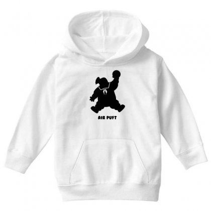 Stay Puft Air Puft Youth Hoodie Designed By Shadowart