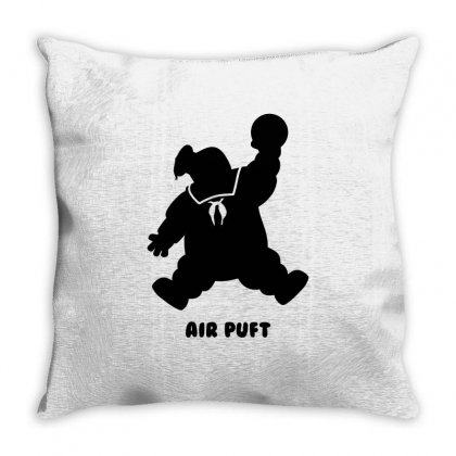 Stay Puft Air Puft Throw Pillow Designed By Shadowart