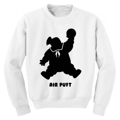 Stay Puft Air Puft Youth Sweatshirt Designed By Shadowart