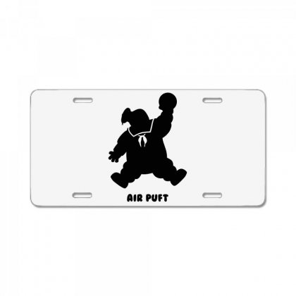 Stay Puft Air Puft License Plate Designed By Shadowart