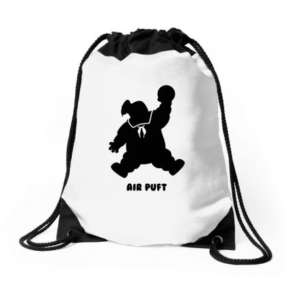 Stay Puft Air Puft Drawstring Bags Designed By Shadowart