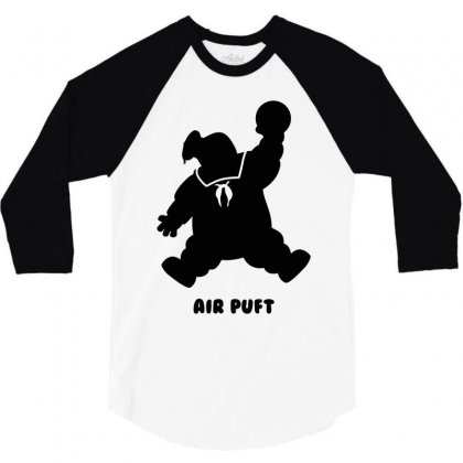 Stay Puft Air Puft 3/4 Sleeve Shirt Designed By Shadowart