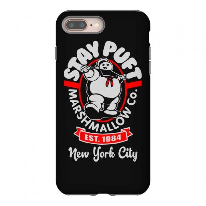 Stay Puft Marshmallow Iphone 8 Plus Case Designed By Shadowart