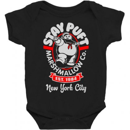 Stay Puft Marshmallow Baby Bodysuit Designed By Shadowart