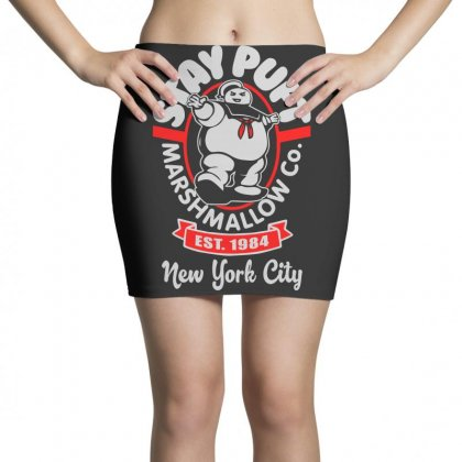 Stay Puft Marshmallow Mini Skirts Designed By Shadowart