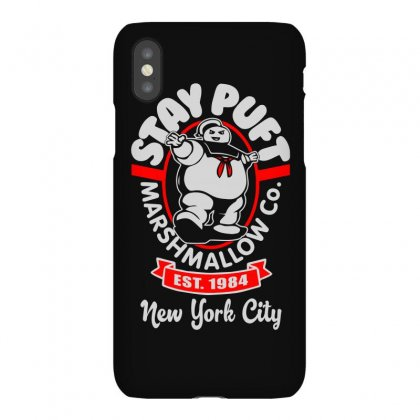 Stay Puft Marshmallow Iphonex Case Designed By Shadowart
