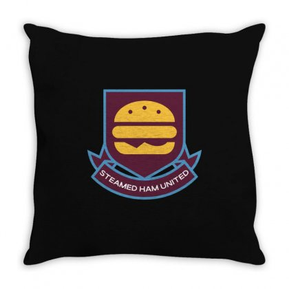 Steamed Ham United Throw Pillow Designed By Shadowart