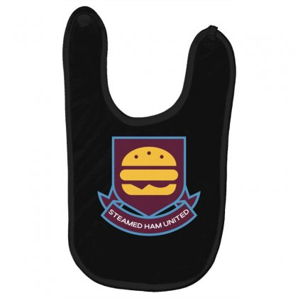 Steamed Ham United Baby Bibs Designed By Shadowart