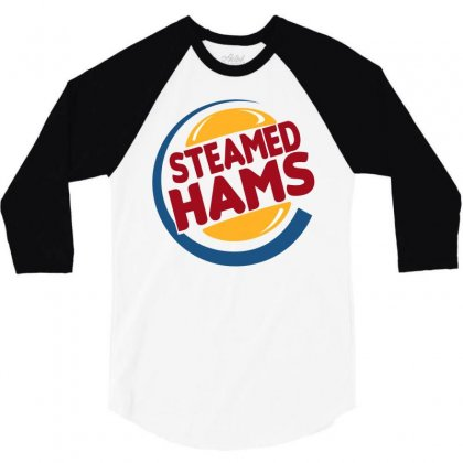 Steamed Hams 3/4 Sleeve Shirt Designed By Shadowart