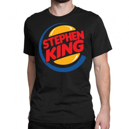 Stephen King 1 Classic T-shirt Designed By Shadowart