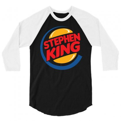 Stephen King 1 3/4 Sleeve Shirt Designed By Shadowart
