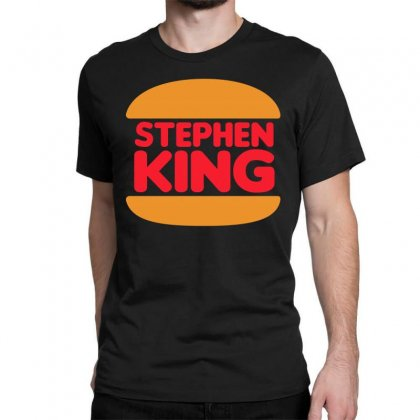 Stephen King Classic T-shirt Designed By Shadowart