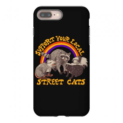 Street Cats Iphone 8 Plus Case Designed By Shadowart