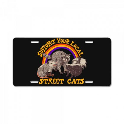 Street Cats License Plate Designed By Shadowart