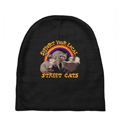 Street Cats Baby Beanies Designed By Shadowart