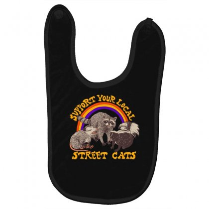 Street Cats Baby Bibs Designed By Shadowart