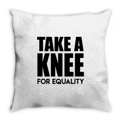Take A Knee For Equality 1 Throw Pillow Designed By Shadowart