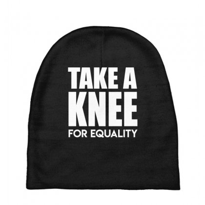 Take A Knee For Equality Baby Beanies Designed By Shadowart