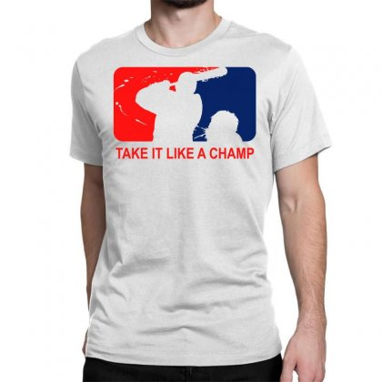 Take It Like Time Classic T-shirt Designed By Shadowart