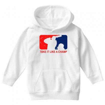 Take It Like Time Youth Hoodie Designed By Shadowart