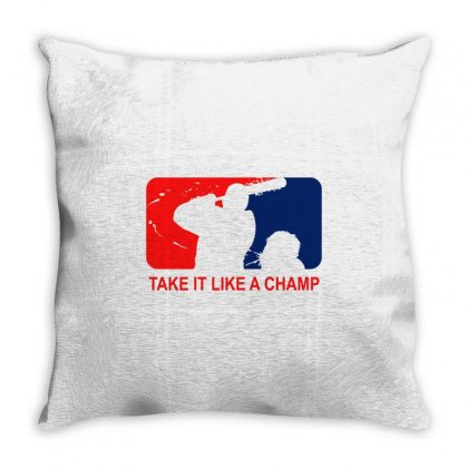 Take It Like Time Throw Pillow Designed By Shadowart