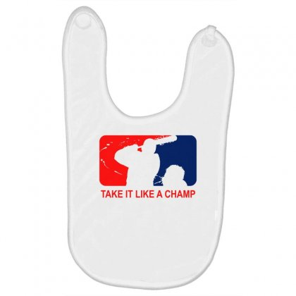 Take It Like Time Baby Bibs Designed By Shadowart