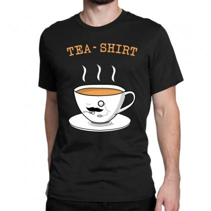 Tea Shirt Classic T-shirt Designed By Artdesigntest