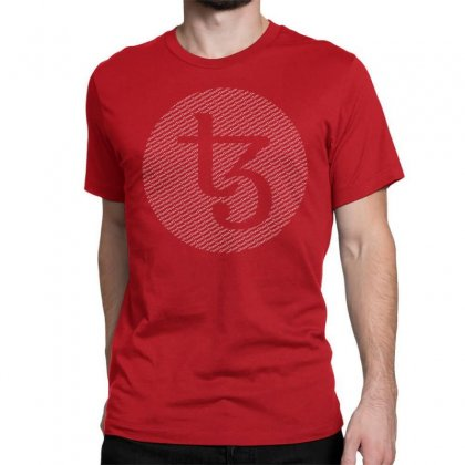 Tezos Classic T-shirt Designed By Artdesigntest