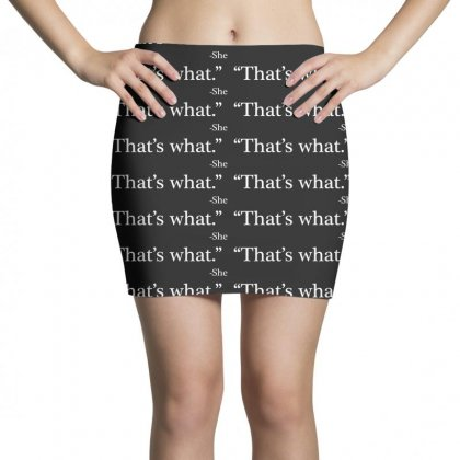 That's What She Mini Skirts Designed By Artdesigntest