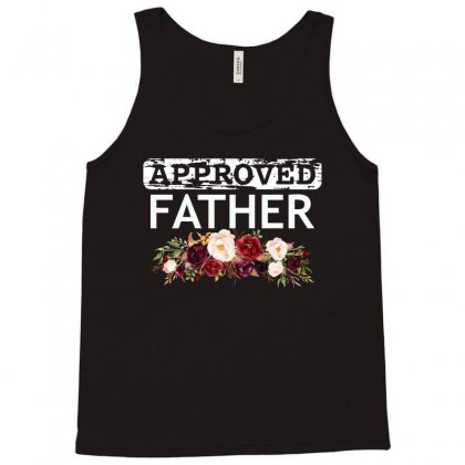 Approved Father Tees Tank Top Designed By Cogentprint
