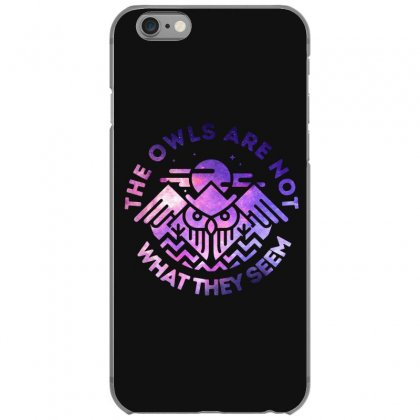 The Owls Are Not What They Seem Iphone 6/6s Case Designed By Artdesigntest