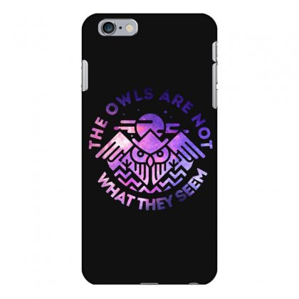 The Owls Are Not What They Seem Iphone 6 Plus/6s Plus Case Designed By Artdesigntest