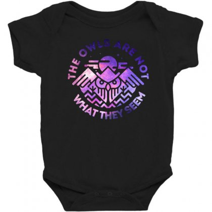 The Owls Are Not What They Seem Baby Bodysuit Designed By Artdesigntest