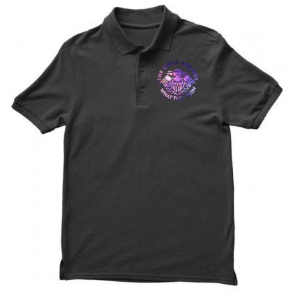 The Owls Are Not What They Seem Men's Polo Shirt Designed By Artdesigntest