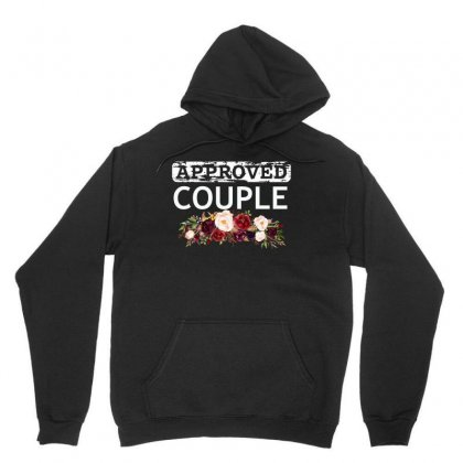 Approved Couple Unisex Hoodie Designed By Cogentprint
