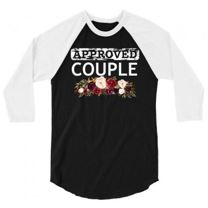 Approved Couple 3/4 Sleeve Shirt Designed By Cogentprint