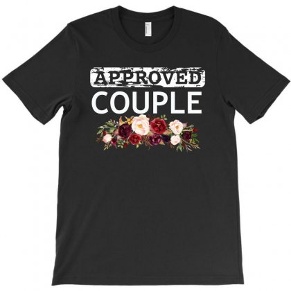 Approved Couple T-shirt Designed By Cogentprint