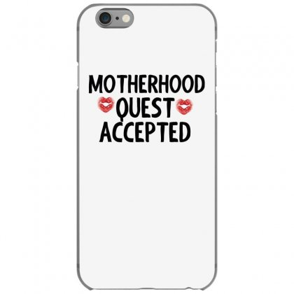 Motherhood Quest Accepted Iphone 6/6s Case Designed By Cogentprint
