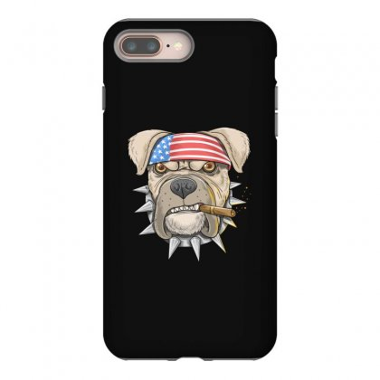 Usa Dog Iphone 8 Plus Case Designed By Disgus_thing