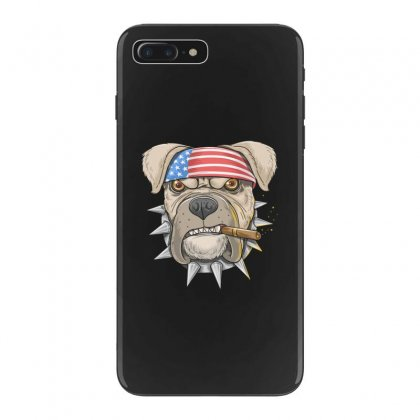 Usa Dog Iphone 7 Plus Case Designed By Disgus_thing
