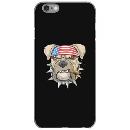 Usa Dog Iphone 6/6s Case Designed By Disgus_thing