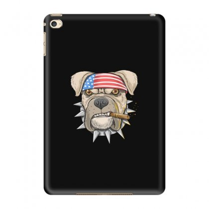 Usa Dog Ipad Mini 4 Case Designed By Disgus_thing