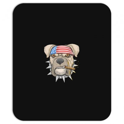Usa Dog Mousepad Designed By Disgus_thing
