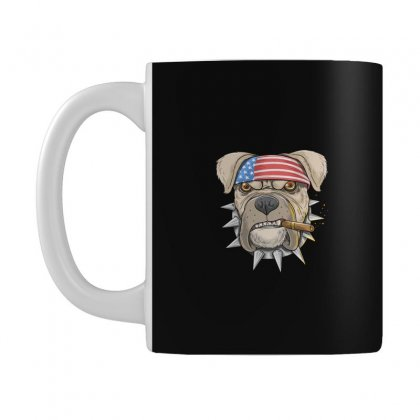 Usa Dog Mug Designed By Disgus_thing