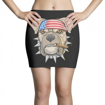 Usa Dog Mini Skirts Designed By Disgus_thing
